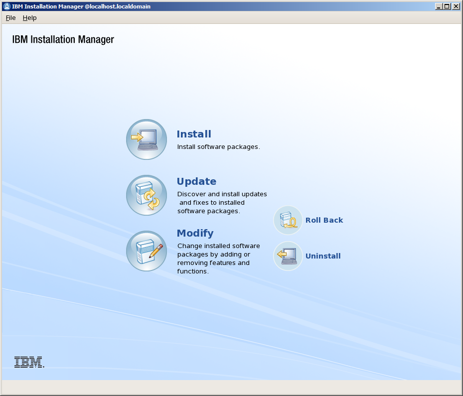 IBM Websphere Installation